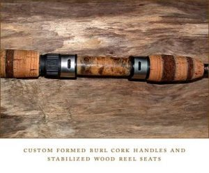 Cork & Burl Handle
