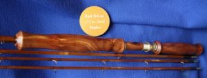 Badlands Juniper Handle. 4-piece Bamboo Rod. 7/8 wt